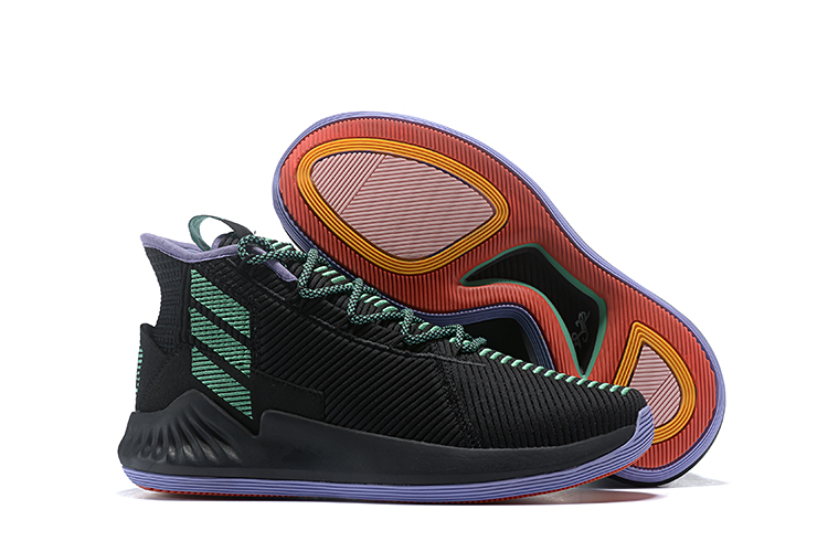 New-adidas-D-Rose-9-Black-Green-For-Sale