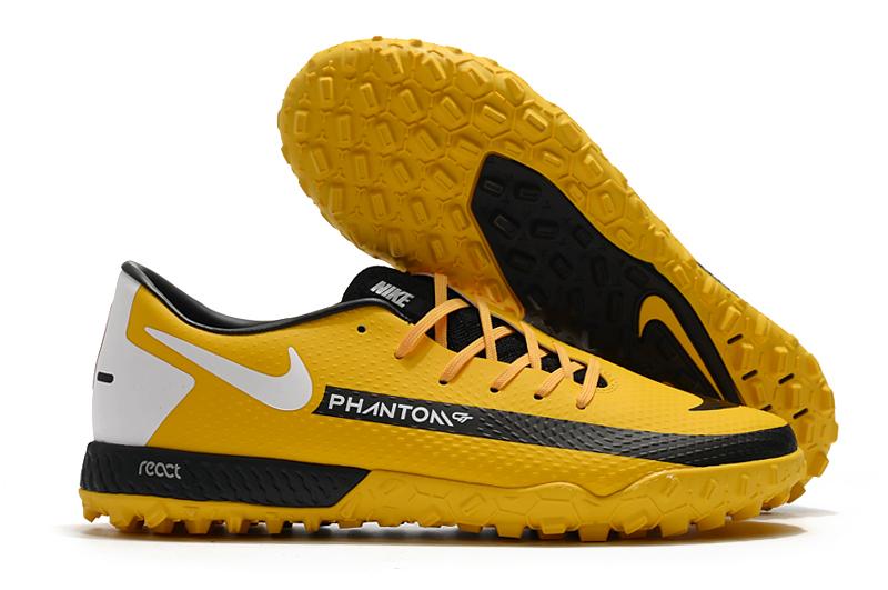 Nike React Phantom GT Pro TF yellow Cheap