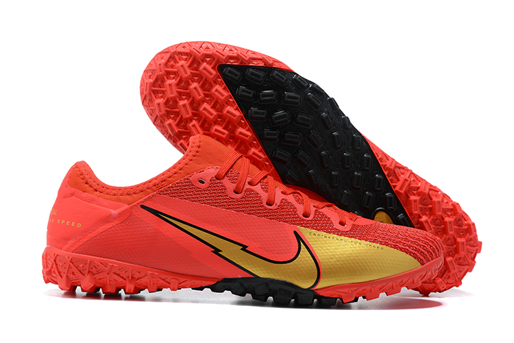 Nike Vapor 13 Pro TF red and gold football boots Sell