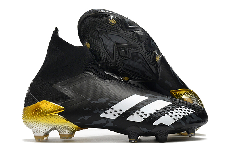 The new adidas Predator Mutator 20+ black, white and gold football boots Outside