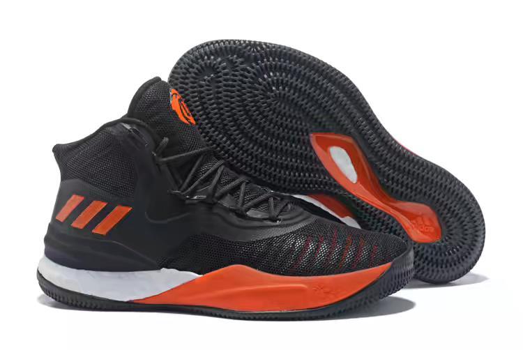 adidas-D-Rose-8-Black-Orange-White-Mens-Basketball-Shoes-2