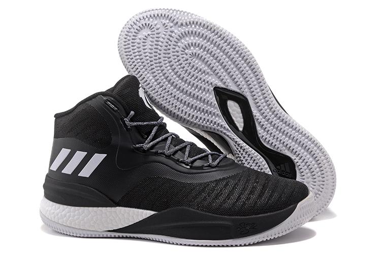 adidas-D-Rose-8-Black-White-Mens-Basketball-Shoes-2