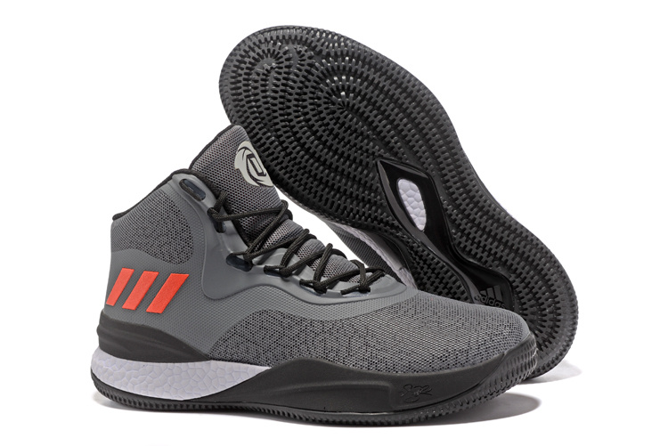 adidas-D-Rose-8-Grey-Black-Red-White-Basketball-Shoes-3