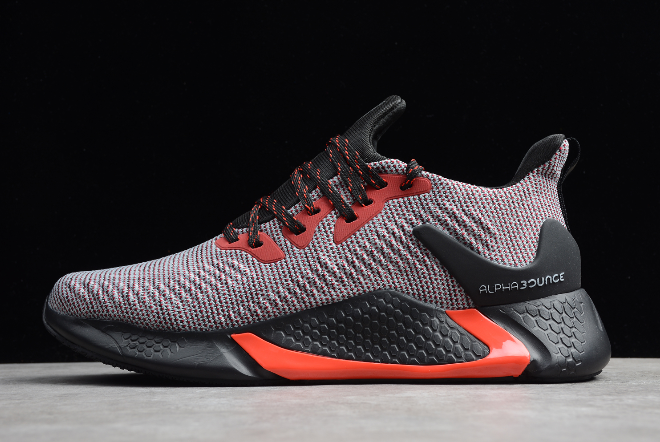 2020-adidas-Alphabounce-Beyond-M-Grey-Black-Red-CG5597-For-Sale