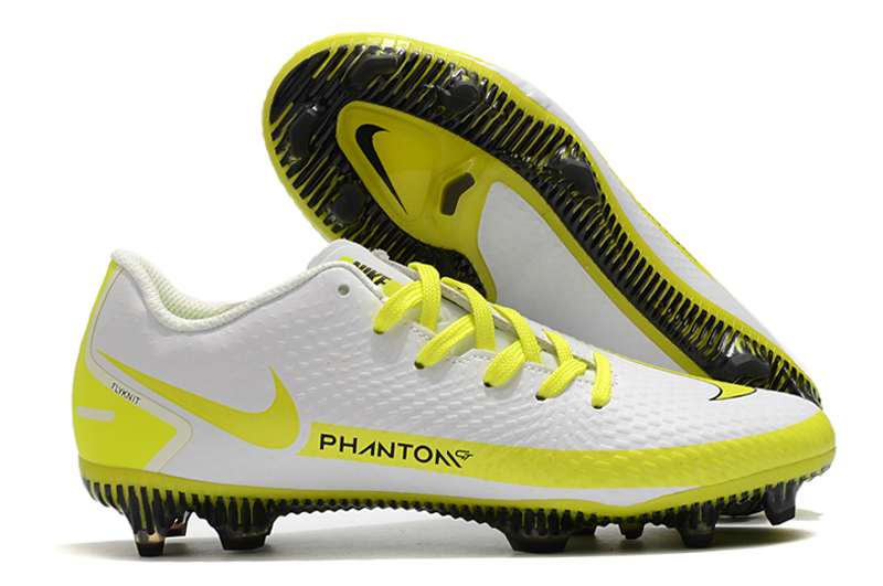 2021 new Nike Phantom GT FG white and yellow football boots buy