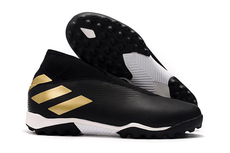 adidas Nemeziz 19.3 Laceless TF black football boots shop