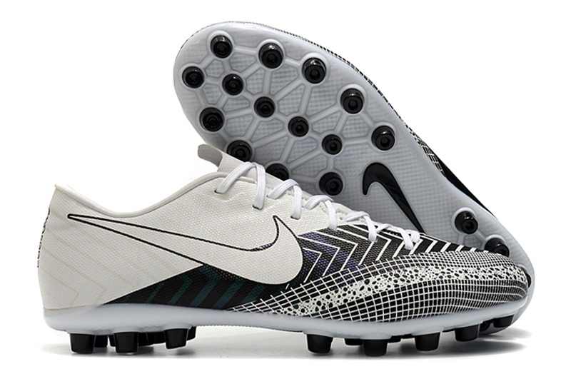 2021 Nike Assassin 13'Dream Spee 003 Low-Top AG Black and White Football Boots shop
