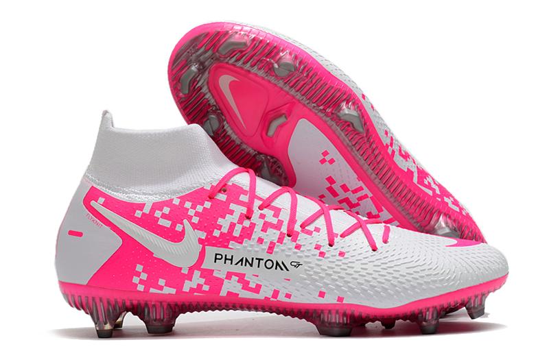 2021 Nike Phantom GT high-top waterproof full-woven original FG football boots shop