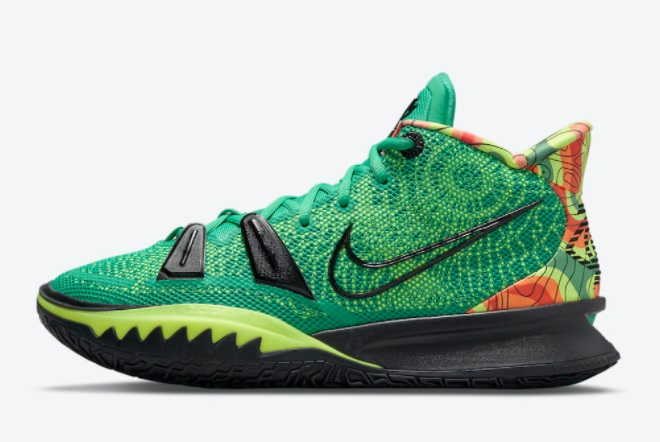"""Most Popular Nike Kyrie 7 """"Weatherman"""" Outlet Sale CQ9327-300"""