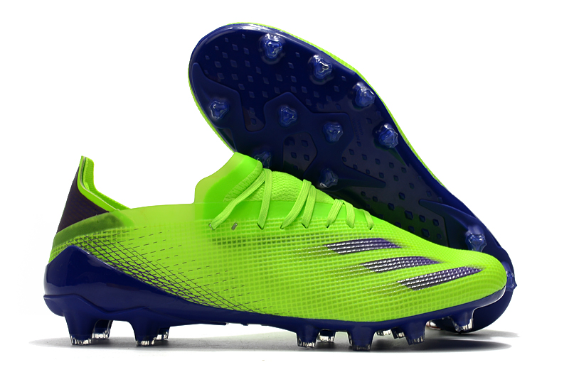adidas X Ghosted .1 AG green football boots Outside