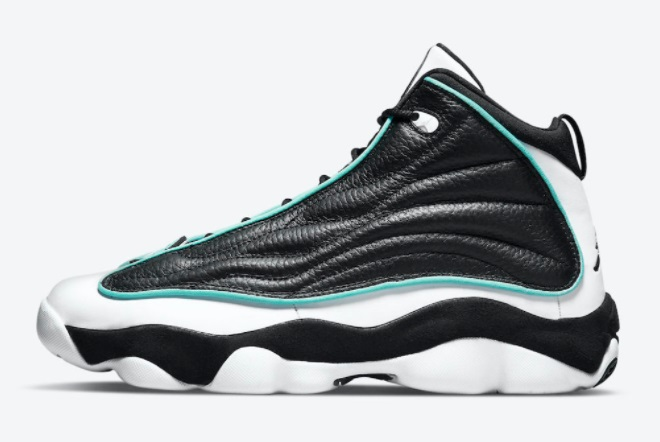 sale-jordan-pro-strong-black-white-aqua-basketball-shoes-dc8418-001