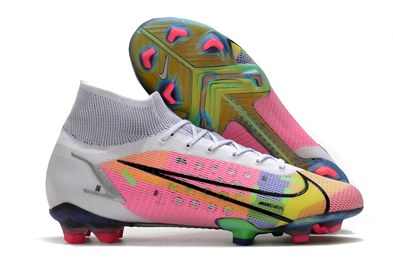 Nike Superfly 8 Elite FG pink football boots