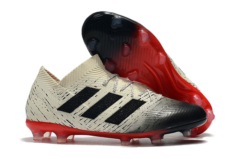 adidas Nemeziz Messi 18.1 FG red and white football boots
