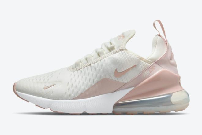 fashion-nike-air-max-270-sail-beige-pink-outlet-sale-dm3053-100