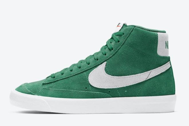 new-sale-nike-blazer-mid-77-suede-pine-green-white-ci1172-301