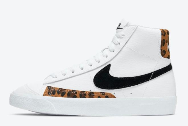 nike-blazer-mid-77-gs-white-black-leopard-outlet-sale-dj4603-100