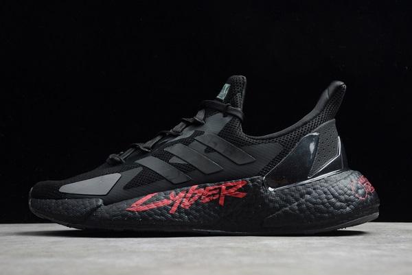 2021-Cyberpunk-2077-x-adidas-X9000L4-Boost-Black-Night-Metallic-FZ3091-For-Sale