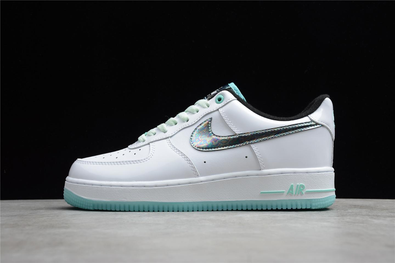 2021 Release Nike Air Force 1 07 Tropical Twist White