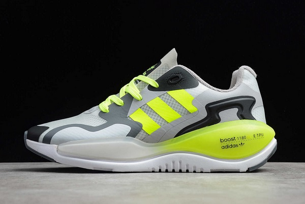 2021-adidas-ZX-ALKYNE-W-White-Volt-Black-FV2523-For-Sale