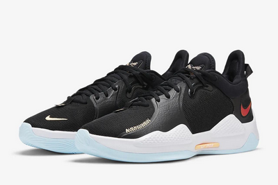 2021-mens-nike-pg-5-pe-black-white-sneakers-outlet-sale