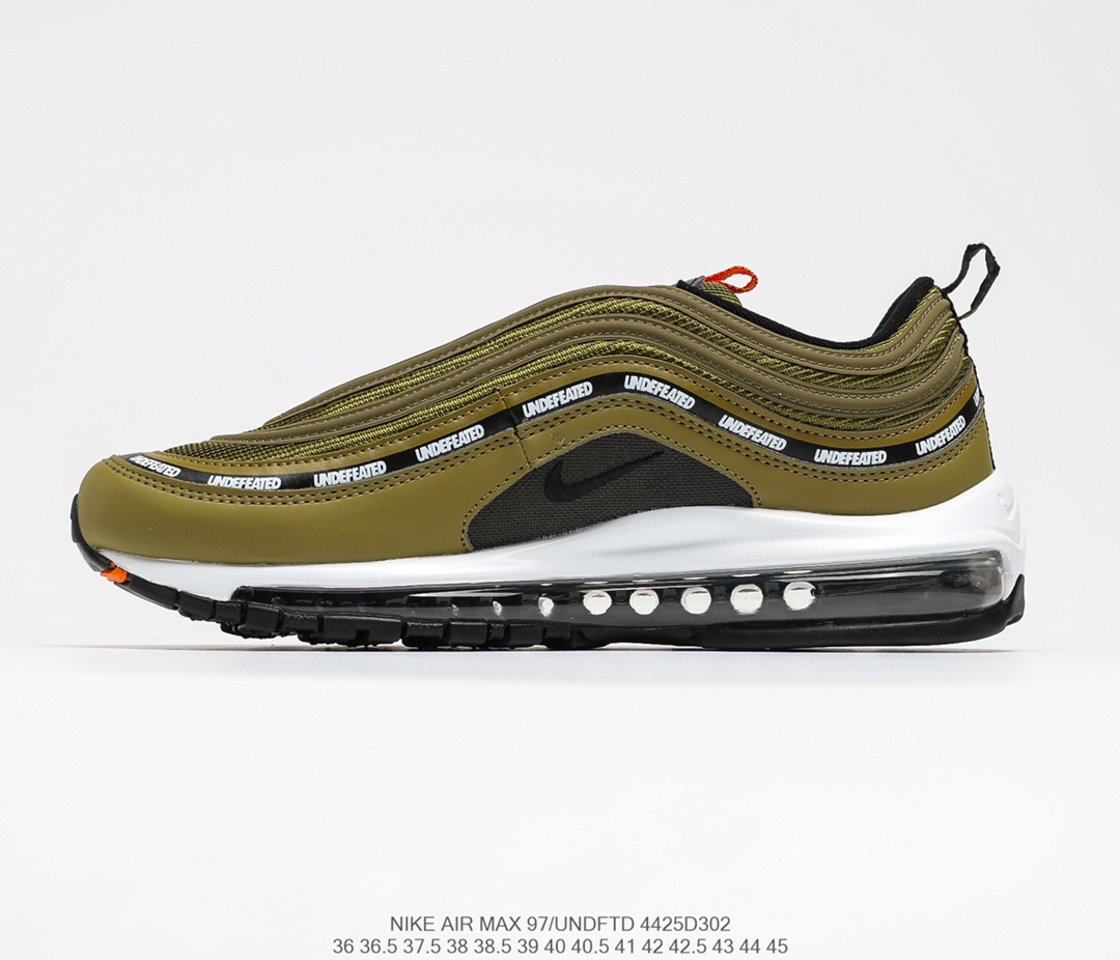 2021UNDEFEATED x Nike Air Max 97 Brown DC4830-300 Left
