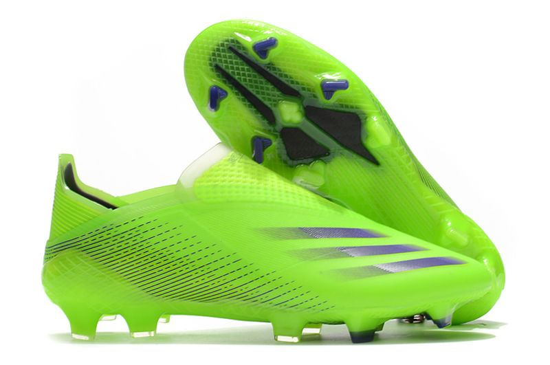 2021adidas X Ghosted FG green football boots utside