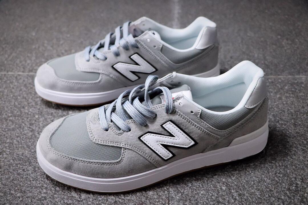 AW574GREY gray white NB574 sneakers