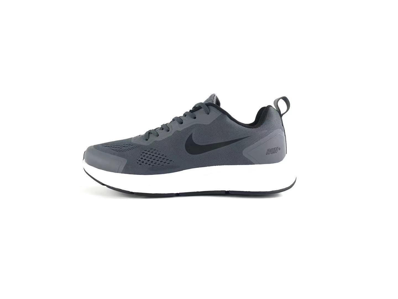 Nike Air Zoom 27 Jacquard Breathable Grey Black Jogging Shoes Left
