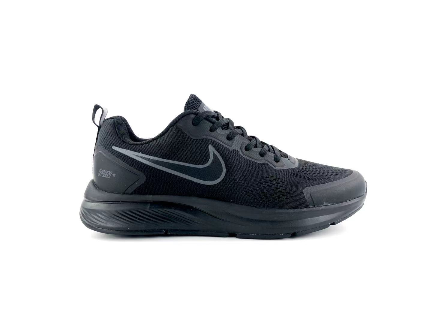Nike Air Zoom 27 black running shoes Right