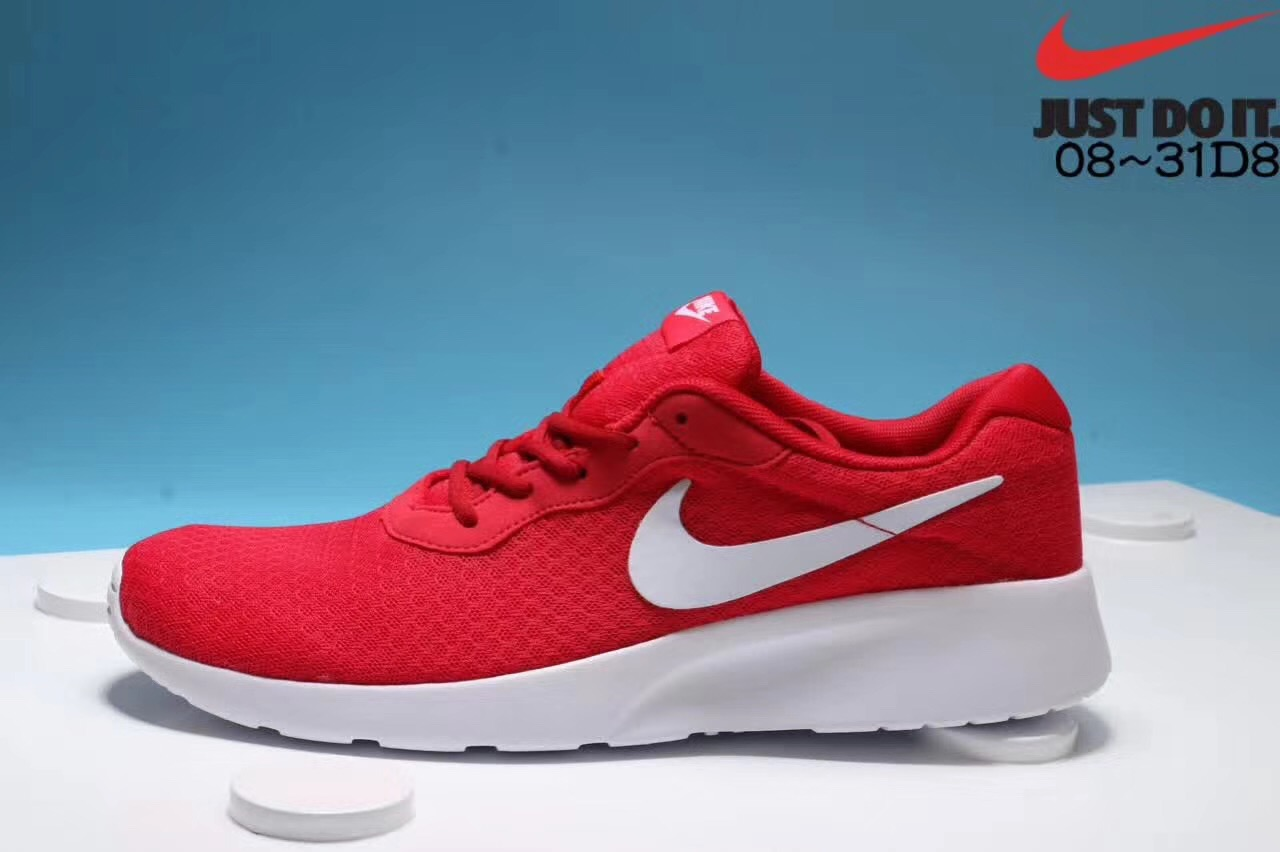 Nike London third-generation grey-red white running shoes Left