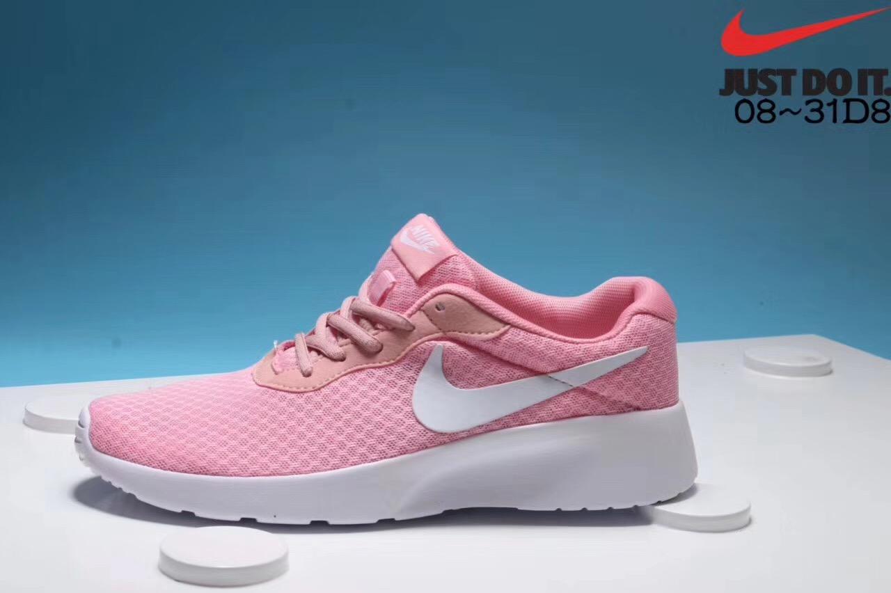 Nike London third-generation white pink running shoes