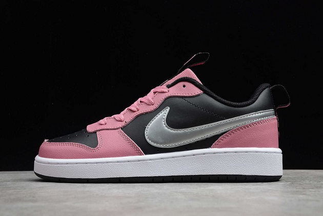 womens-nike-court-borough-low-2-fp-black-pink-outlet-sale-ct3964-6001