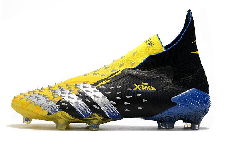 2011 Adidas Fanatic Wolverine PREDATOR FREAK + FG football boots side