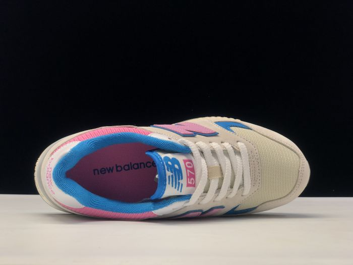 2021 New Balance WL570XZ casual sports running shoes inside of