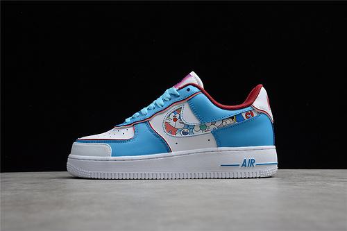 2021 New Nike Air Force 1 Low x Doraemon BQ8988-106