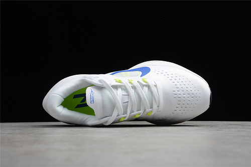 2021 Nike Zoom Vomero 15 white running shoes CU1855-102 inside of