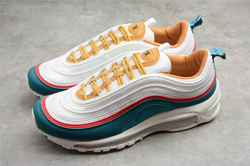 2021 release Nike Air Max 97 blue red and off-white DC3494-995