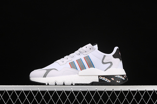 2021Adidas Nite Jogger 2019 Boost H01719 3M reflective travel shoes
