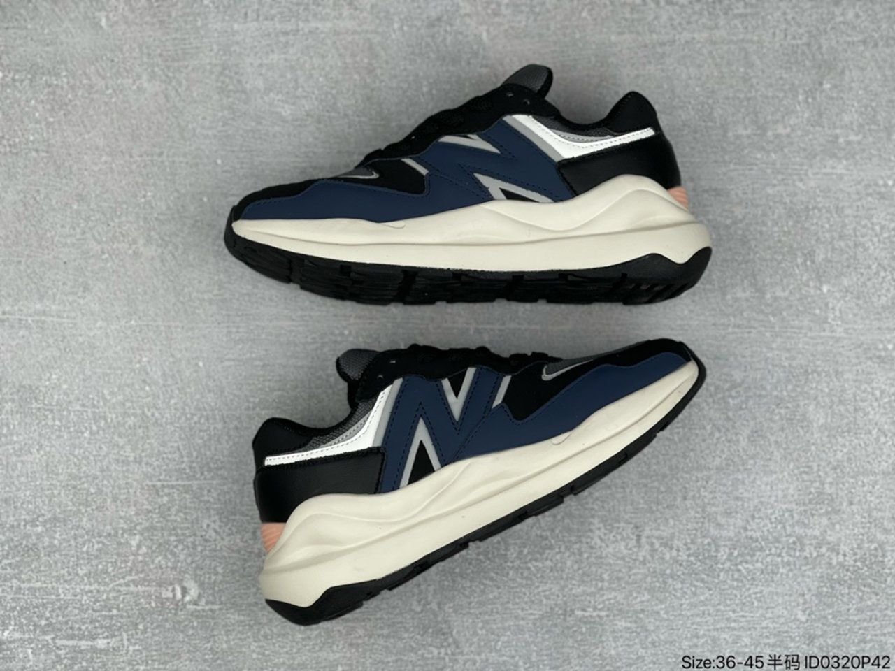 2021New Balance running shoes M5740LB Outside