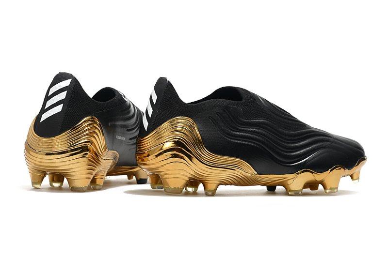 Adidas Capa SENSE+ electroplated football shoes Back heel