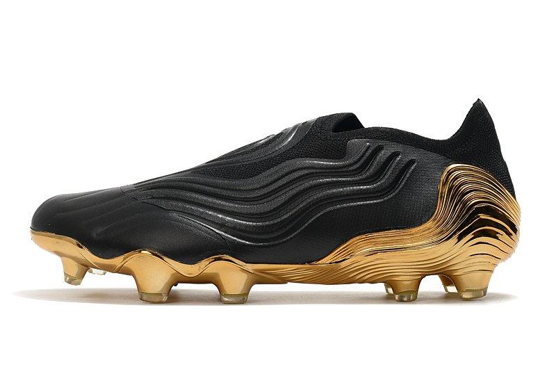 Adidas Capa SENSE+ electroplated football shoes side
