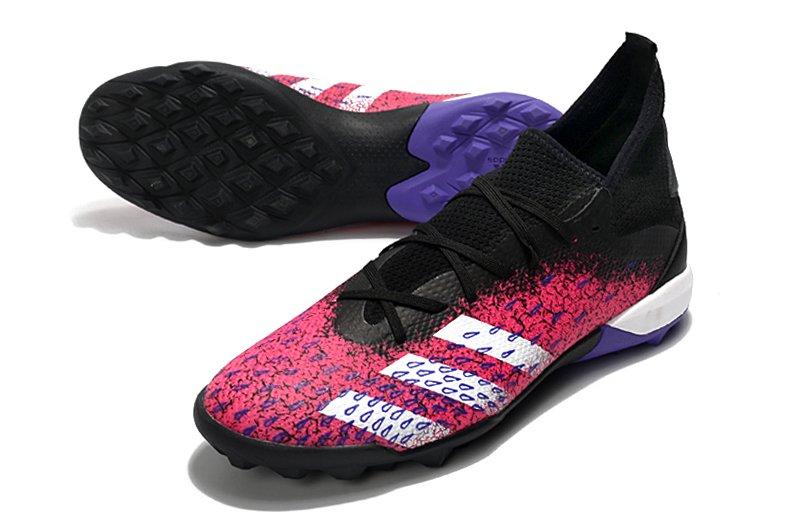 Adidas PREDATOR FREAK .3 TF black pink rivet football shoes Left Shop