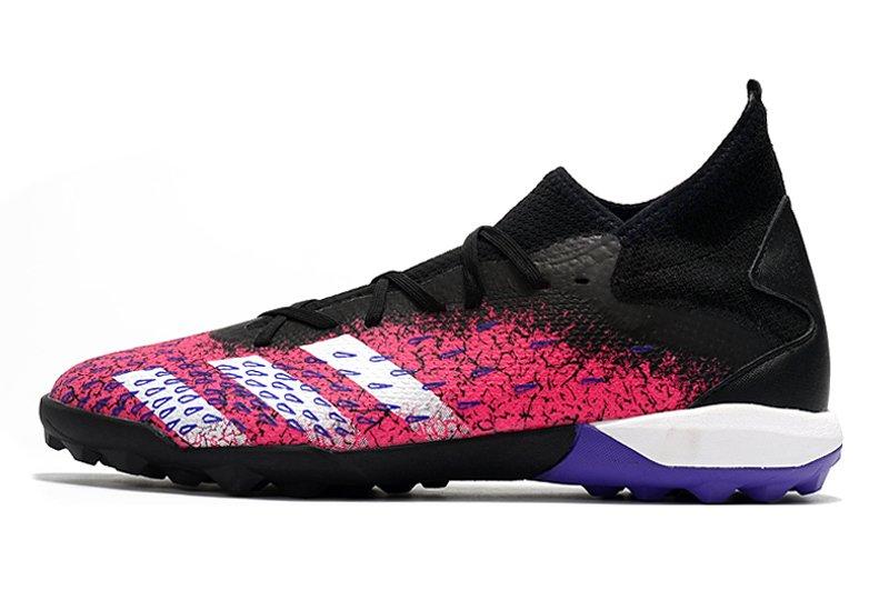 Adidas PREDATOR FREAK .3 TF black pink rivet football shoes Outside