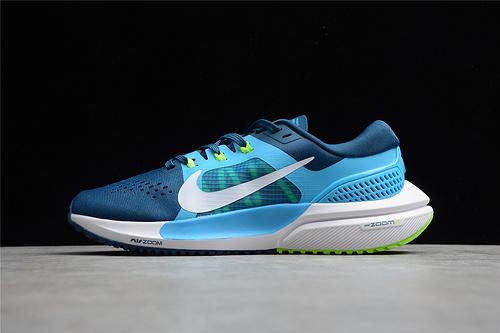 Mens Sports Nike Zoom Vomero 15 Valeriian Blue Green-White CU1855-400