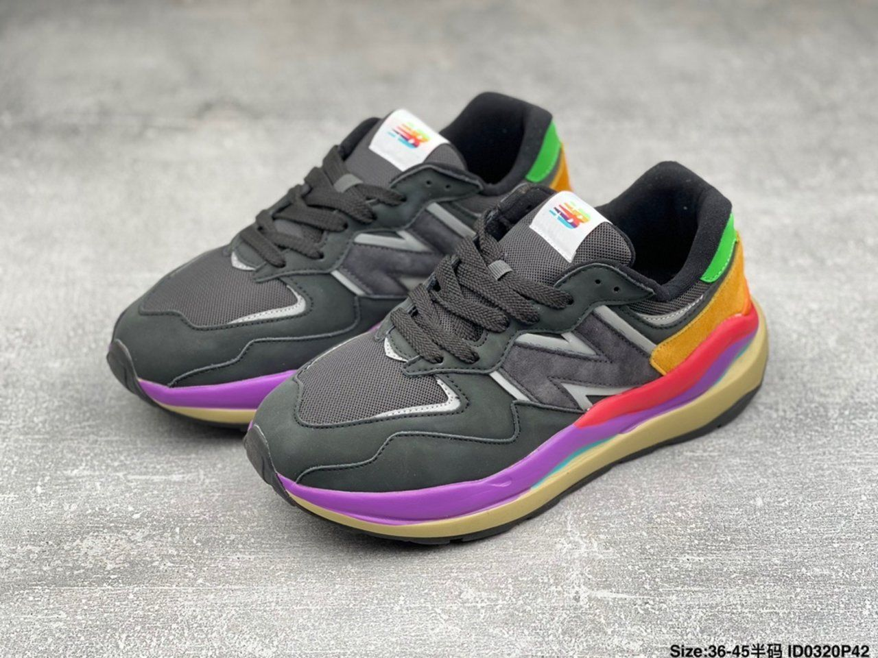 New Balance jogging shoes M5740LB overall