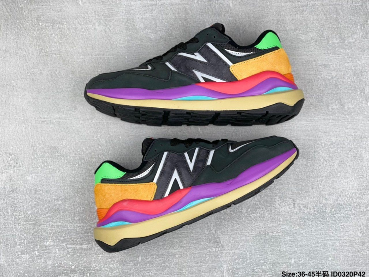 New Balance jogging shoes M5740LB side