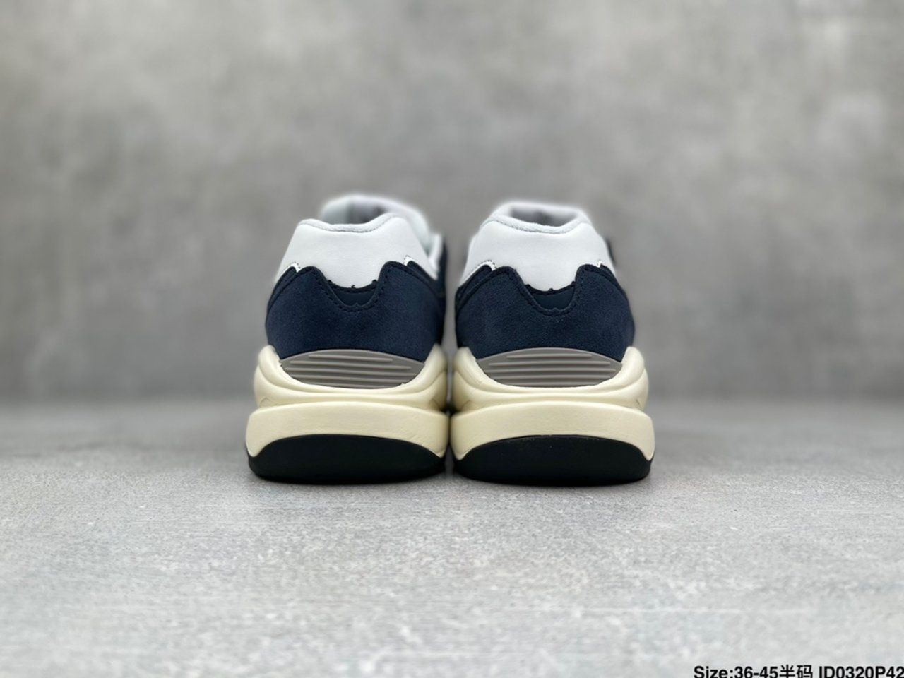New New Balance W5740CD jogging shoes Back heel