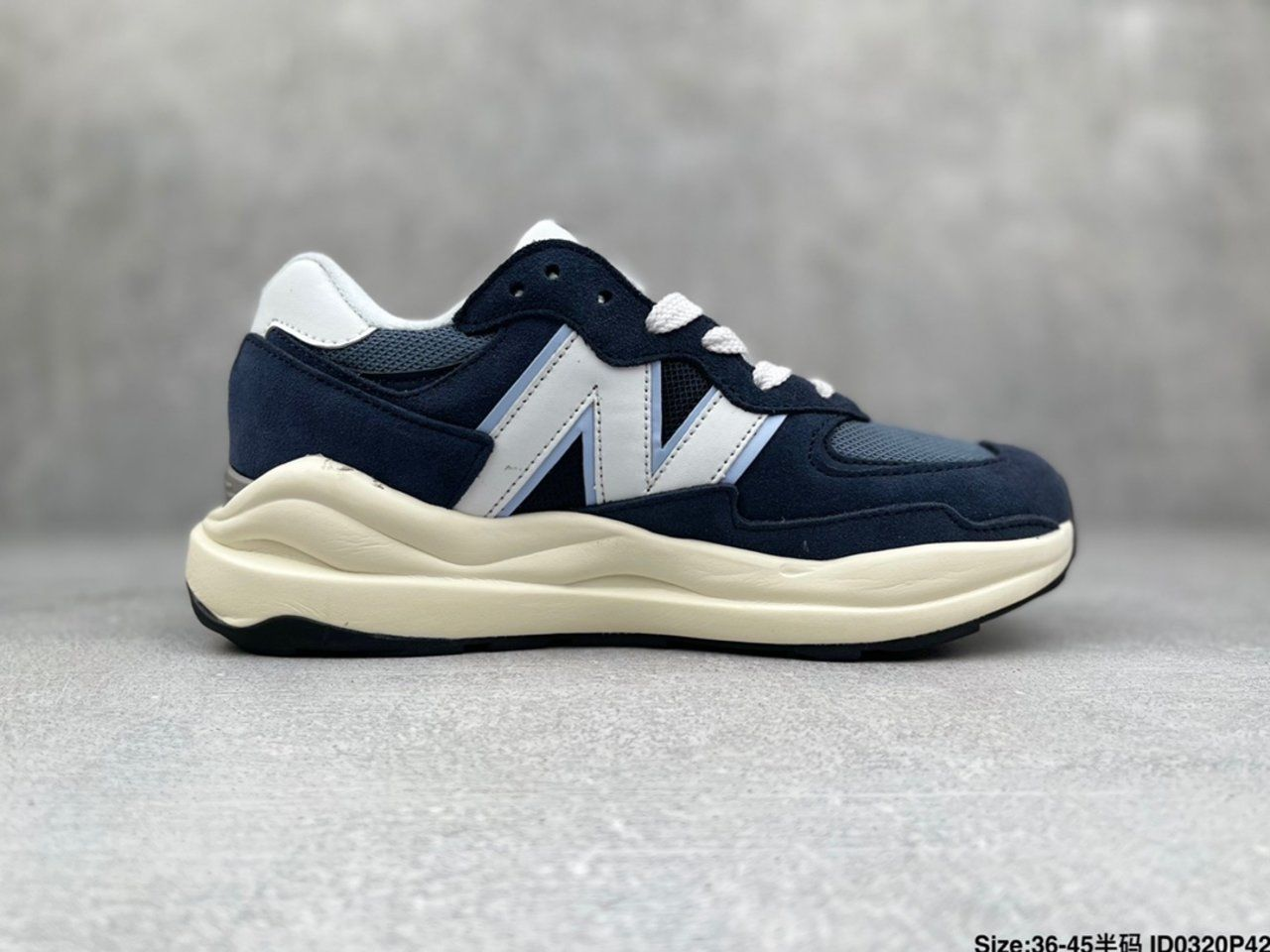 New New Balance W5740CD jogging shoes Right