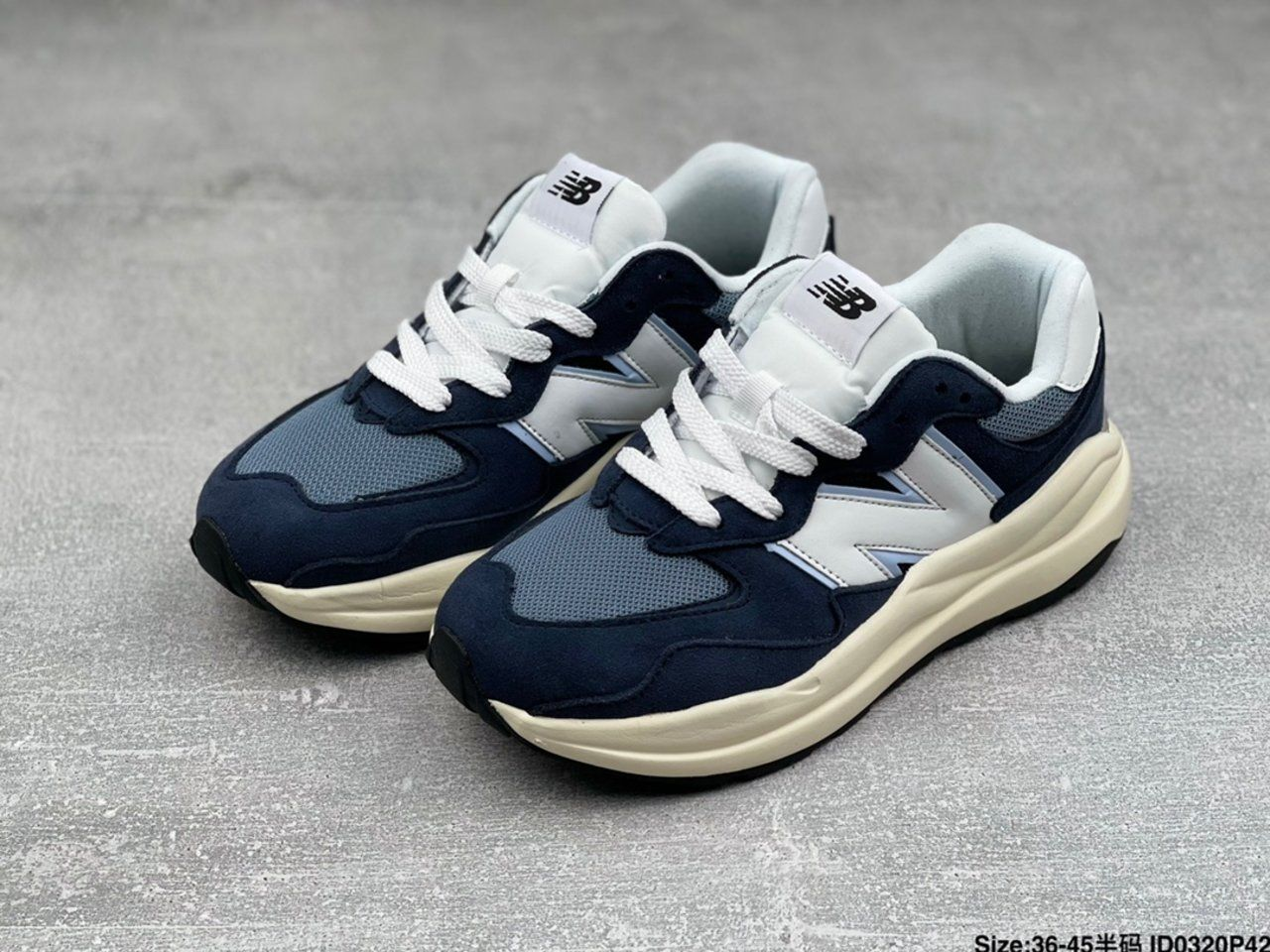 New New Balance W5740CD jogging shoes overall