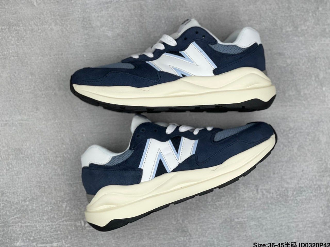 New New Balance W5740CD jogging shoes side